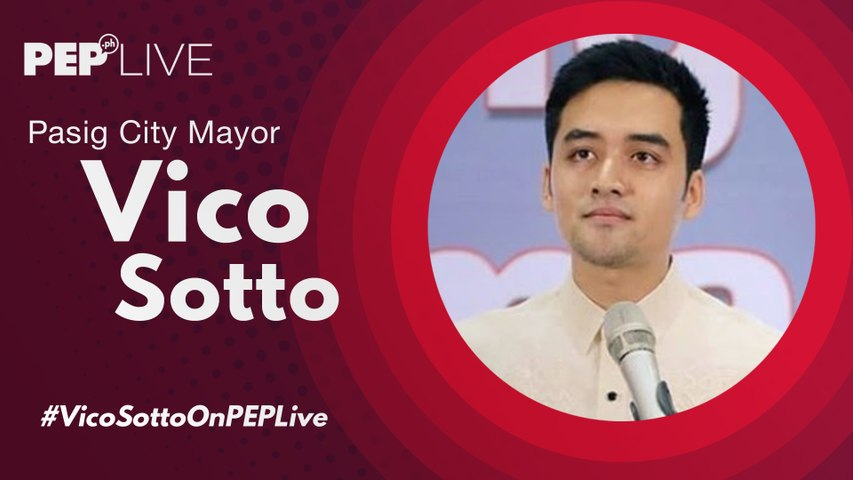 Pasig City Mayor Vico Sotto on how he handles being compared to other public servants | PEP Live