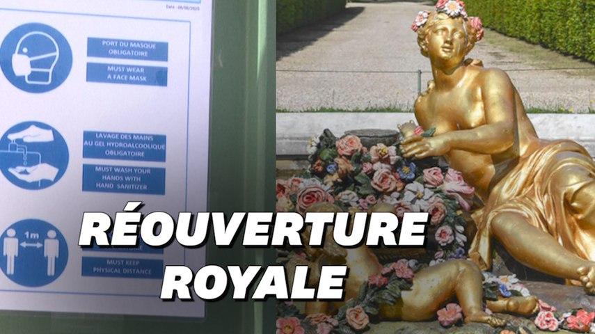 Déconfinement: Grandes eaux et couleurs restaurées, le Château de Versailles rouvre ses grilles