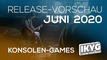 Games-Release-Vorschau - Juni 2020 - Konsole