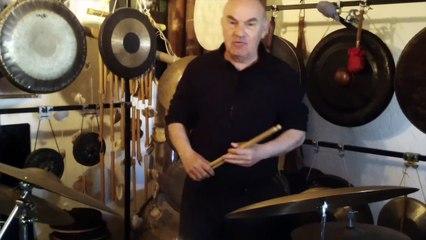 Gilles Dalbis présente sa nouvelle batterie Asba