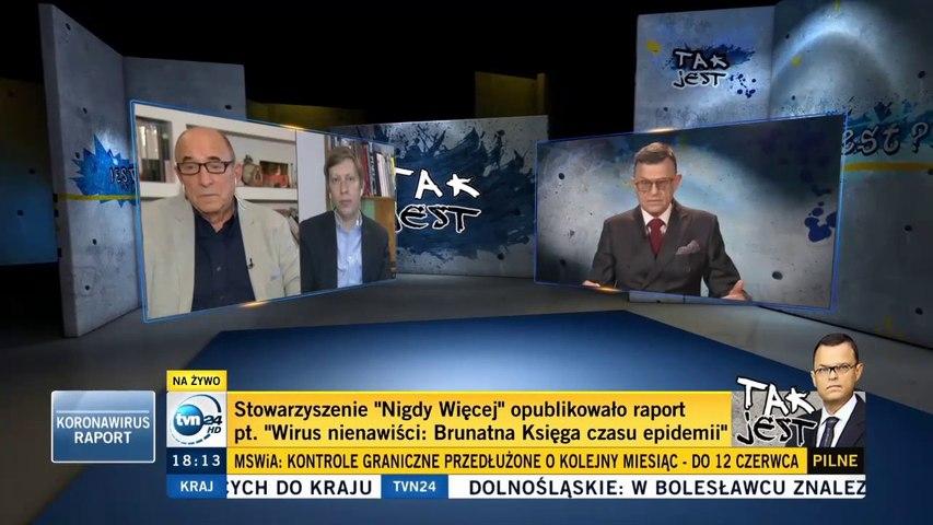 """M. Bilewicz i L. Mellibruda o """"Brunatnej Księdze"""" Stow. NIGDY WIĘCEJ (prow. A. Morozowski), 14.05.20"""