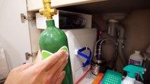 蛇口をひねると炭酸水!40万円の炭酸水メーカーを紹介します。