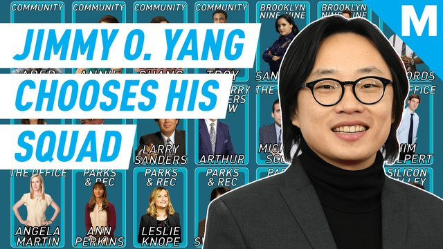 Jimmy O. Yang chooses his perfect squad