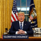 Twitter conceals Trump tweet for 'glorifying violence'