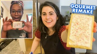 Pastry Chef Remakes Gourmet Pop Tarts at Home