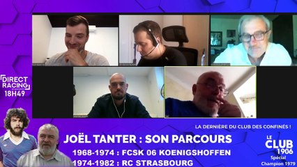 Joël Tanter est l'invité du Club 1906 | La dernière du Club des Confinés !