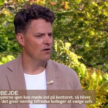 COVID-19; Arbejdsvanerne fra coronakrisen er kommet for at blive | Go morgen Danmark | TV2 Danmark