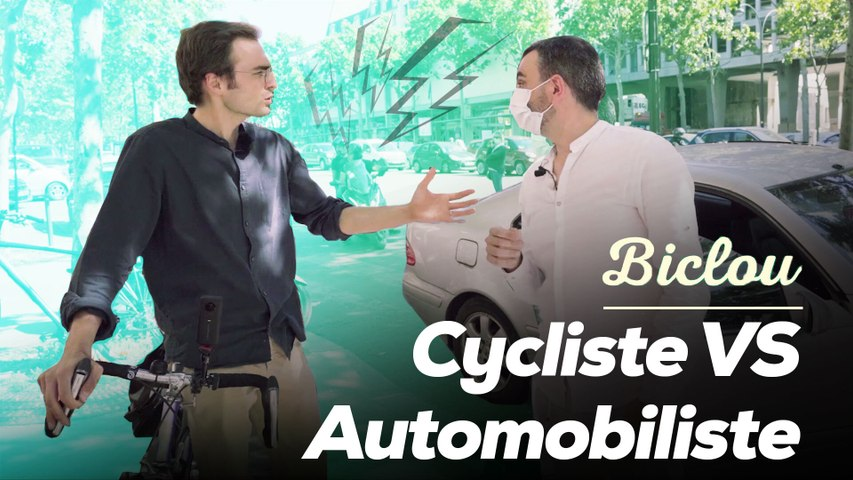 On a roulé avec un cycliste et un automobiliste dans Paris déconfiné