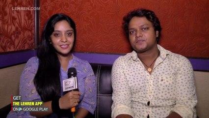 Shubhi Sharma Bani Reporter Is Andaj Me Liya Apne Hero Ka Interview