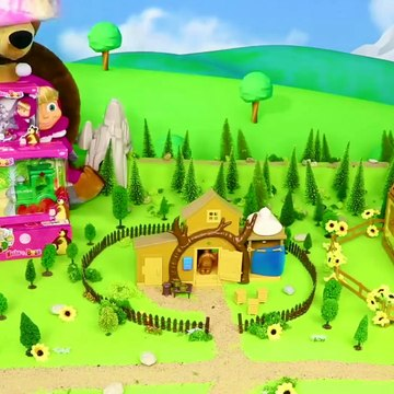 Masha and the Bear - Toy Video for Kids ! 3d kids game