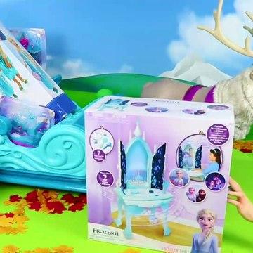 Princess Elsa & Anna Dollhouse Surprise - Toys Video for Kids ! 3d kids game