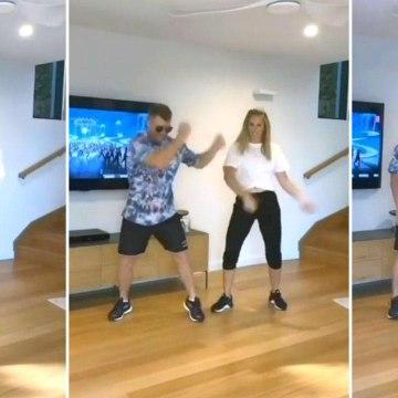 #Watch : David Warner, His Wife Dance For Mahesh Babu's 'Mind Block' Song