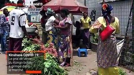 Le Kongo Bololo, célèbre plante médicinale utilisée notamment dans le traitement du paludisme, s'est vendu en masse comme depuis l'annonce des cas du COVID-19 en RDC le 10 mars. Suivez ce reportage de Gloria Mbuya, Journaliste à 7sur7