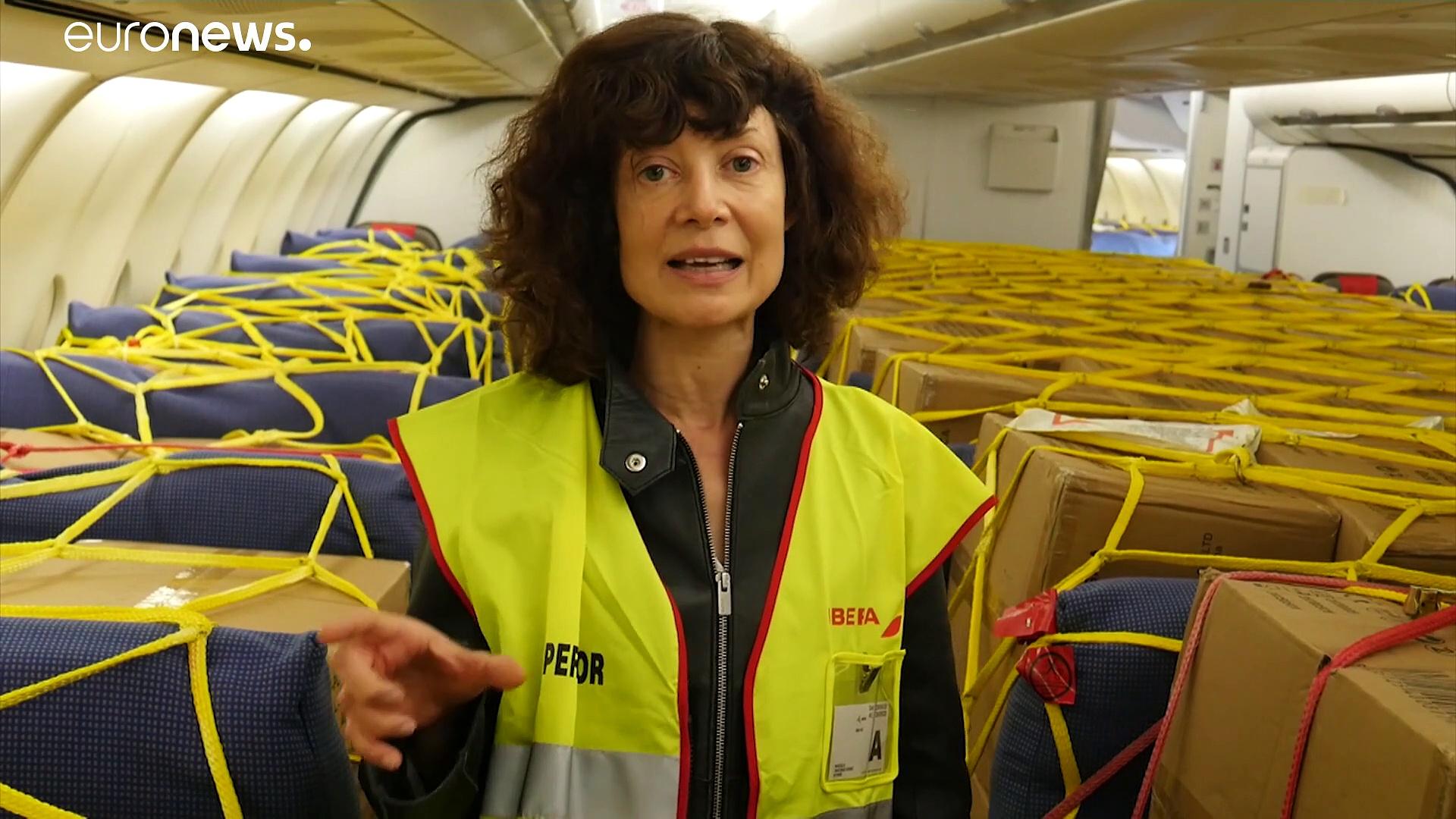 Coronavirus aid corridor from China to Spain closing down