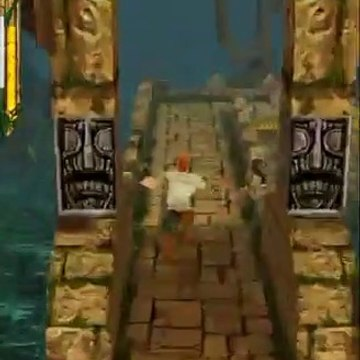Temple run Android game- gameplay very very nice ( 720 X 720 )