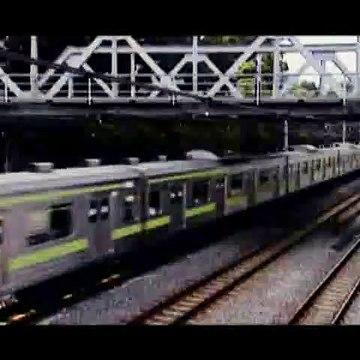 The Train Simulator Real: Yamanote Sen PS2 english translation test. :)