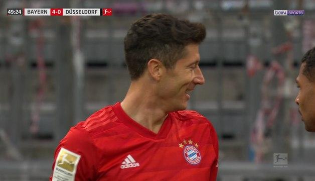 Bundesliga - Bayern : La talonnade sublime de Lewandowski