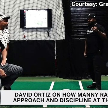 David Ortiz On Manny Ramirez's Approach, Plate Discipline