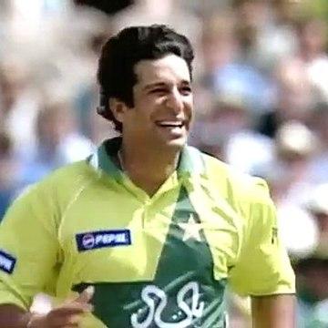 Classic Wasim Akram ICC Men's Cricket World Cup 1992