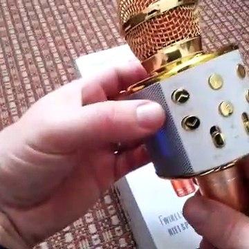 bluetooth karaoke microphone ws 858 - gearbest