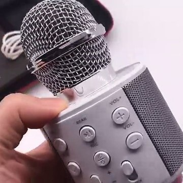 WS-858 Bluetooth wireless professional condenser studio microphone