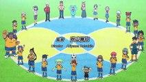Inazuma Eleven GO Chrono Stone #12 - The village of Nobunaga! HD ENG SUB
