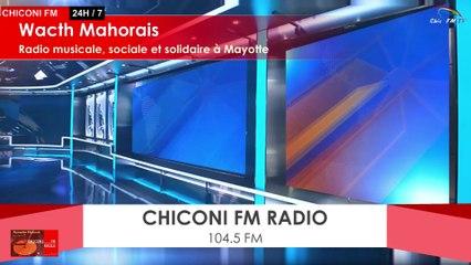 Chiconi FM-TV - Avec la Radio Koudjouni ce samedi 30 mai 2020