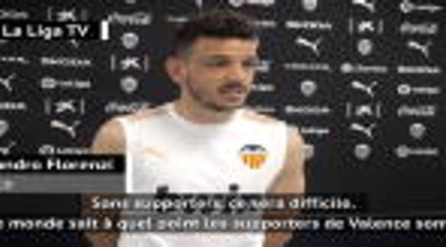 """Reprise - Florenzi (Valence) : """"Donner de la joie aux supporters après ces moments difficiles"""""""