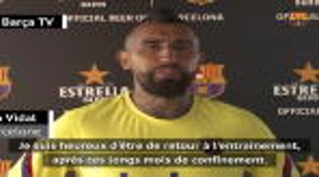 """Reprise - Arturo Vidal : """"Les mois de confinement ont été difficiles"""""""