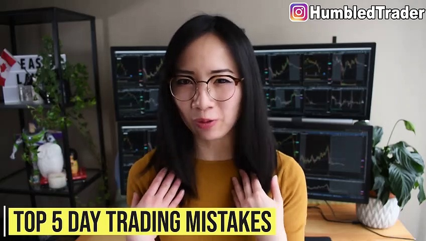 TOP 5 Day Trading Beginner Mistakes to AVOID_HD