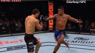 UFC Las Vegas Results: Gilbert Burns Dominates Former Champ Tyron Woodley