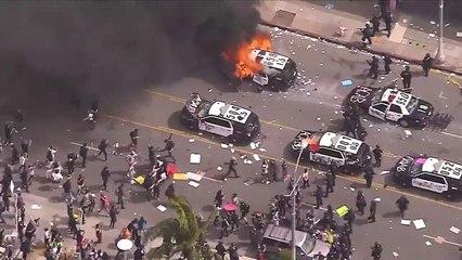 ABD'de protestolar ülke geneline yayıldı: Birçok eyalette sokağa çıkma yasağı ilan edildi