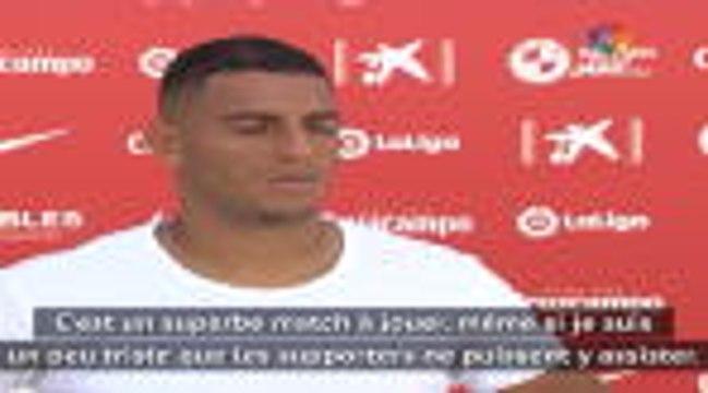 """Seville - Diego Carlos : """" C'est triste de ne pas avoir de supporters pour le derby"""""""