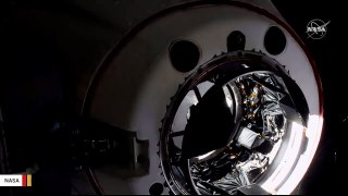 Here's Video Of SpaceX Crew Dragon Docking With International Space Station