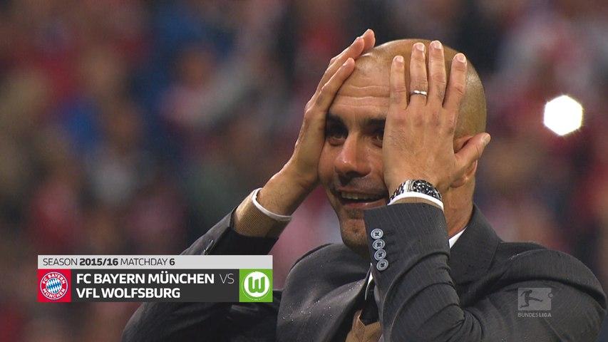 Best matches of the decade | Bayern Munich vs. Wolfsburg 2015/16