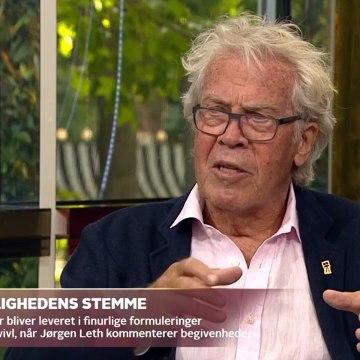 COVID-19; Jørgen Leth har inspireret danskerne hver dag under coronakrisen | Go aften Live | TV2 Danmark