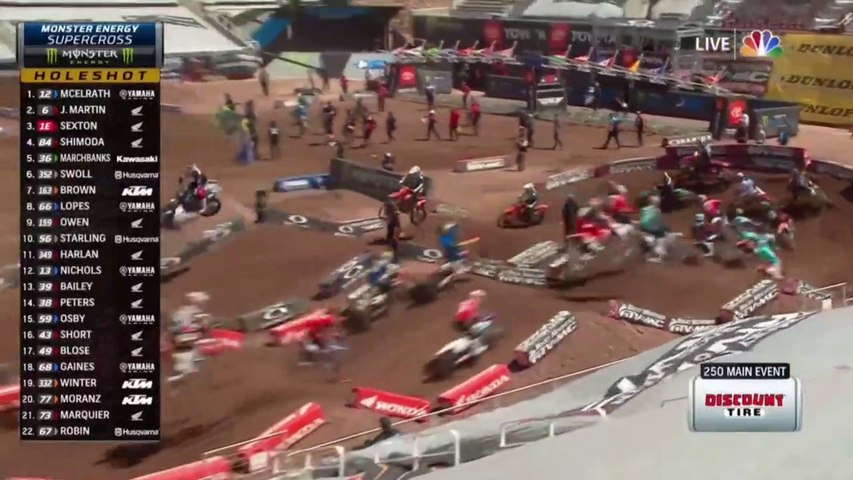 2020 AMA Supercross Salt Lake City 250 Main Event HD
