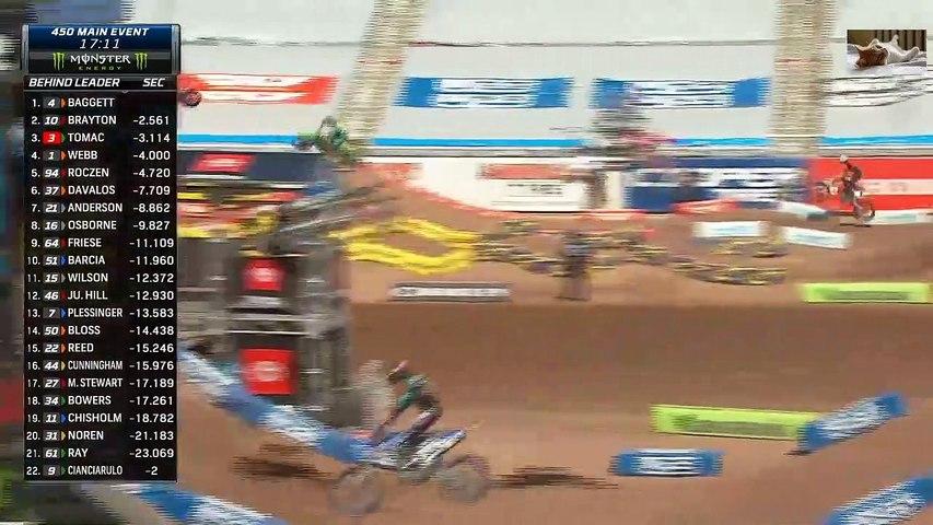 Monster energy Supercross 2020 Salt Lake city Round 11 - 450 Main Event