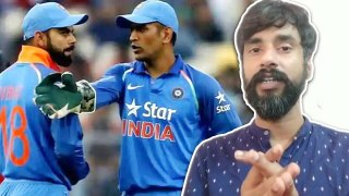 Dhoni got angry when Rohit - Kohli collide in 2012 Asia cup vs pak