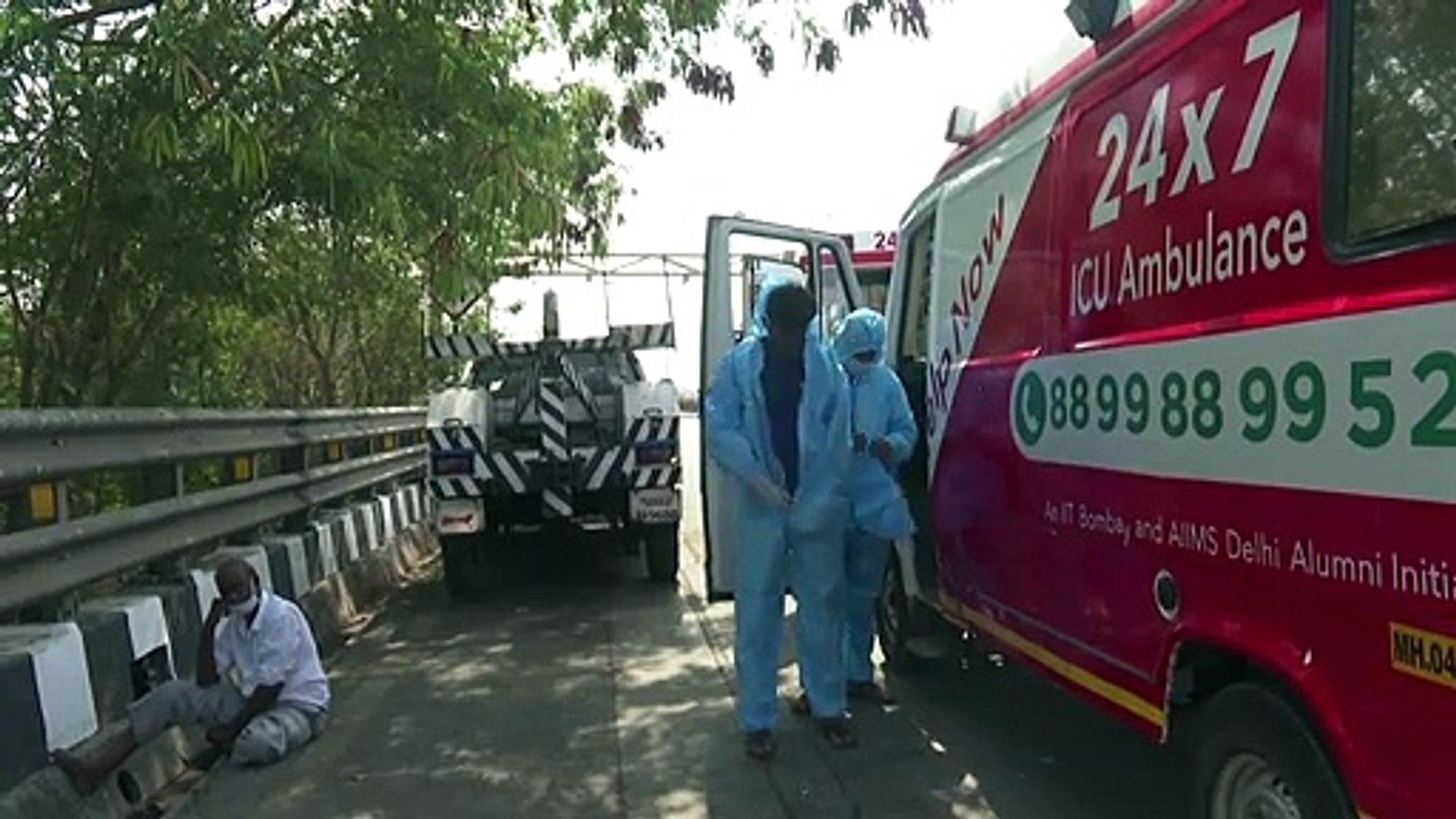 شركة ناشئة لسيارات الإسعاف تساعد فقراء بومباي على مواجهة كورونا