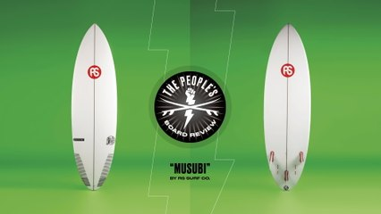 """The People Have Spoken, And The """"Musubi"""" Is Their Favorite RS Surf Co. Craft"""