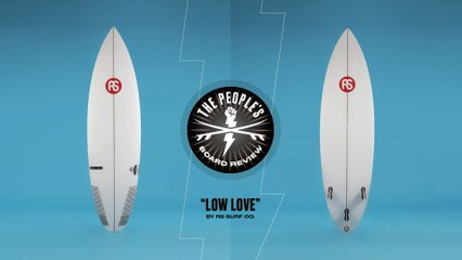 """RS Surf Co.'s """"Low Love"""" is a Samurai Blade for Performance Surfing"""