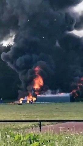 Saughton Park fire