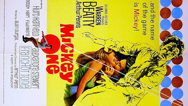 Mickey One movie (1965) - Warren Beatty, Alexandra Stewart, Hurd Hatfield