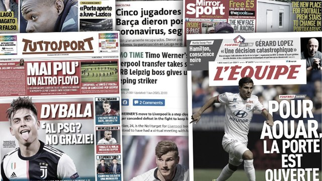 Cinq joueurs du Barça positifs au coronavius,  Leipzig panique pour Werner