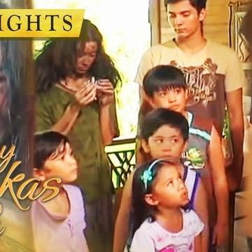 Santino and his friends help a rugged beggar | May Bukas Pa