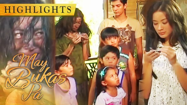 Santino and his friends help a rugged beggar | May Bukas Pa
