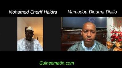 Cherif Haidara, président des ressortissants du Manding (Guinée) aux Etats-unis