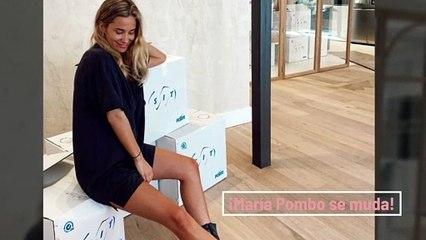 María Pombo se muda y ella misma nos lo cuenta