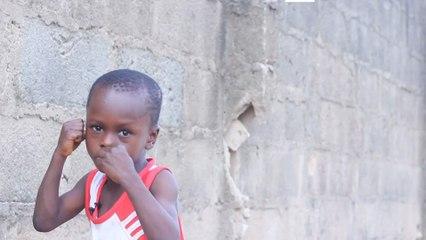 Prodígio do boxe da Nigéria, aos cinco anos, é chamado de o próximo Mayweather
